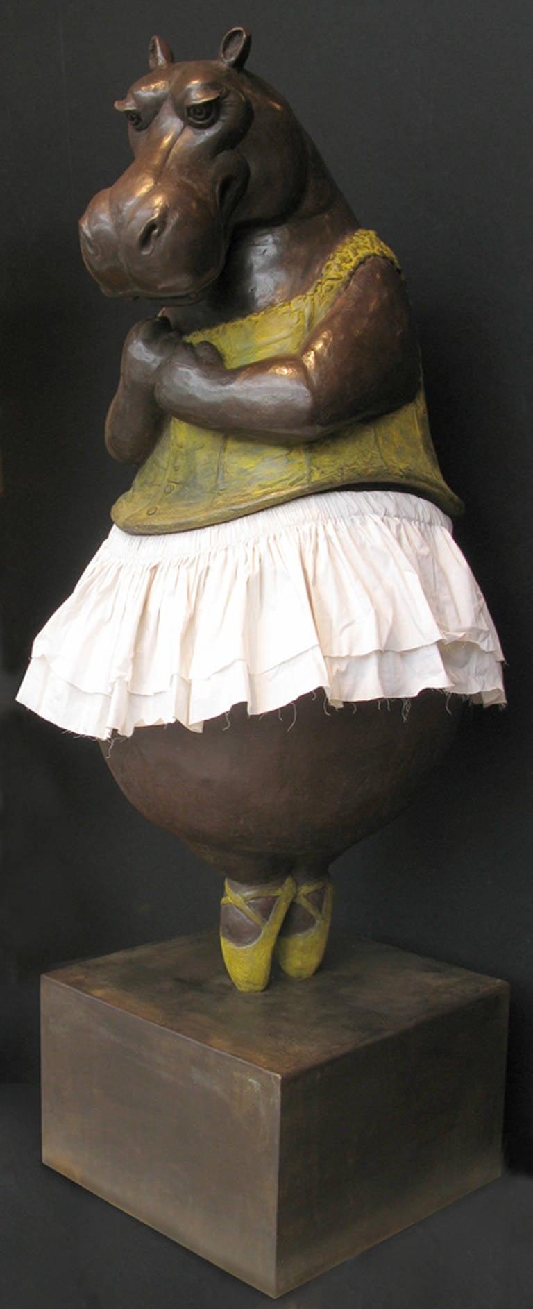 Bjorn Skaarup - Hippo Ballerina, en pointe 1