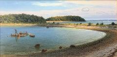 Mooring Barge, Peddocks Island