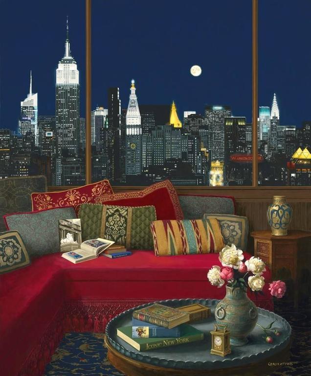 Jenness Cortez - Manhattan in the Moonlight 1