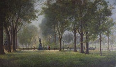 Morning on the Mall (Central Park)