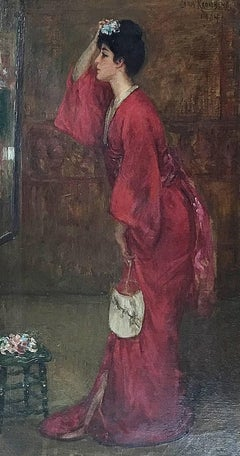 The Red Kimono (Souvenir of Japan)