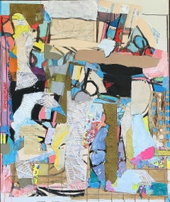 Untitled Collage Painting
