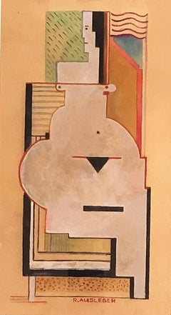 Untitled, Cubist Woman