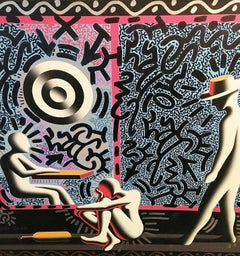 Untitled (Collaboration with Mark Kostabi)