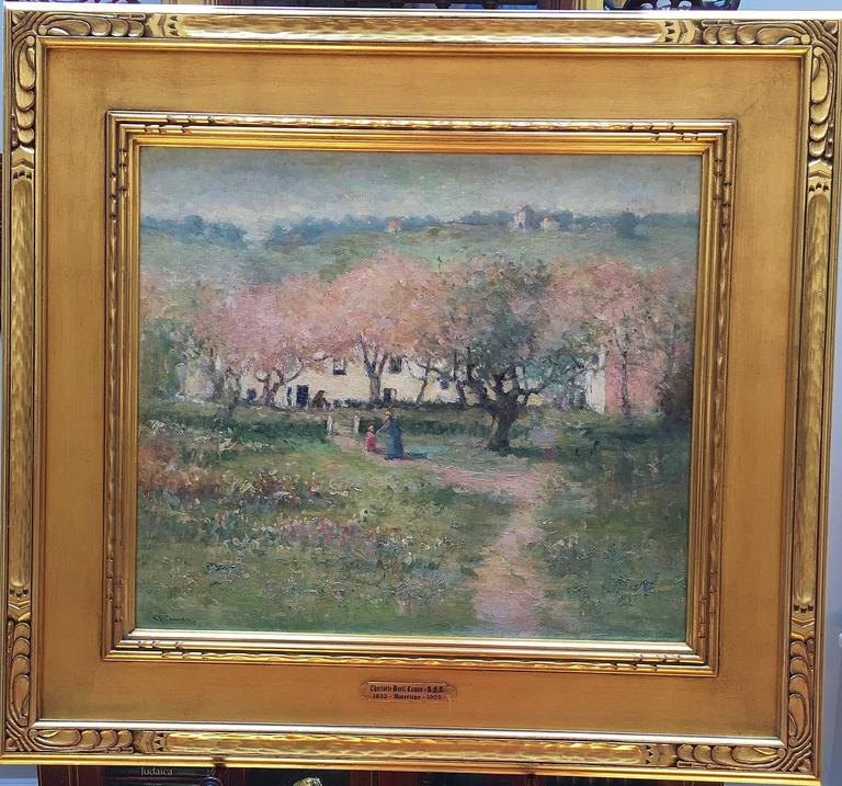 Countryside - Painting by Charlotte Buell Coman