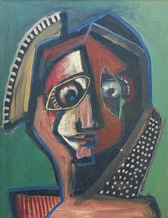 Untitled, Cubist Figure