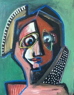 Untitled, Cubist Figure