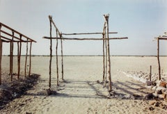 Two Sections of Time, Chicxulub, Puerto, Mexico, May 1998