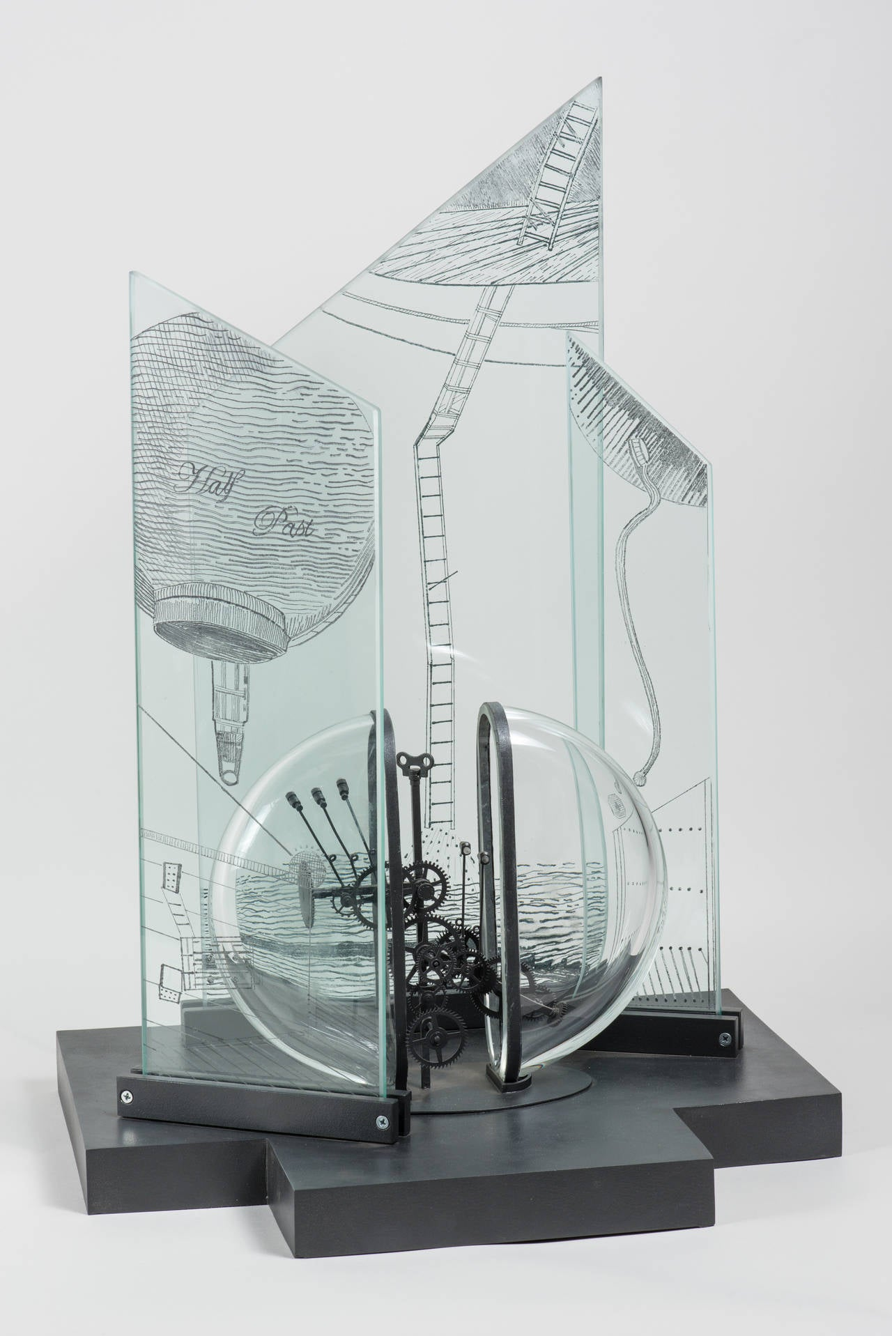 Bella Feldman Abstract Sculpture - Half Past