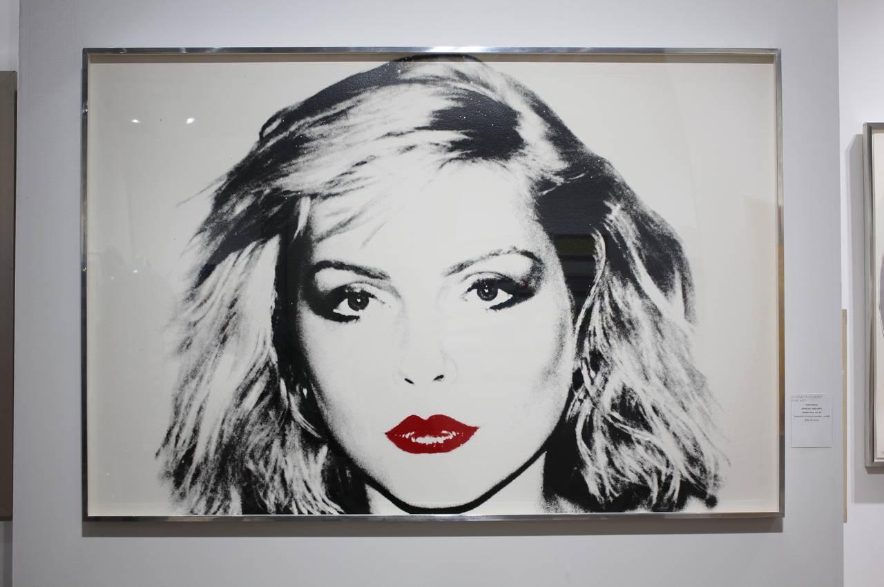 Debbie Harry, IIIC. 53 - Print by Andy Warhol