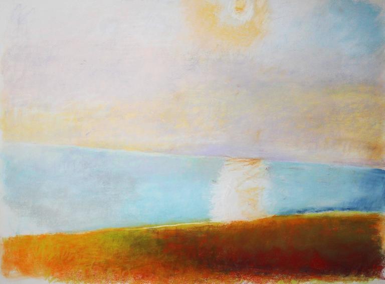 Wolf Kahn Landscape Art - Early Morning at Wauwinet