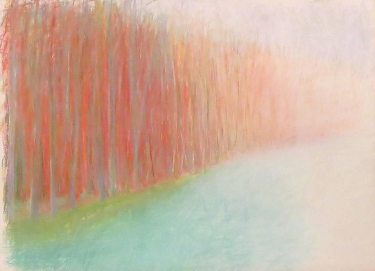 Wolf Kahn Landscape Art - Untitled