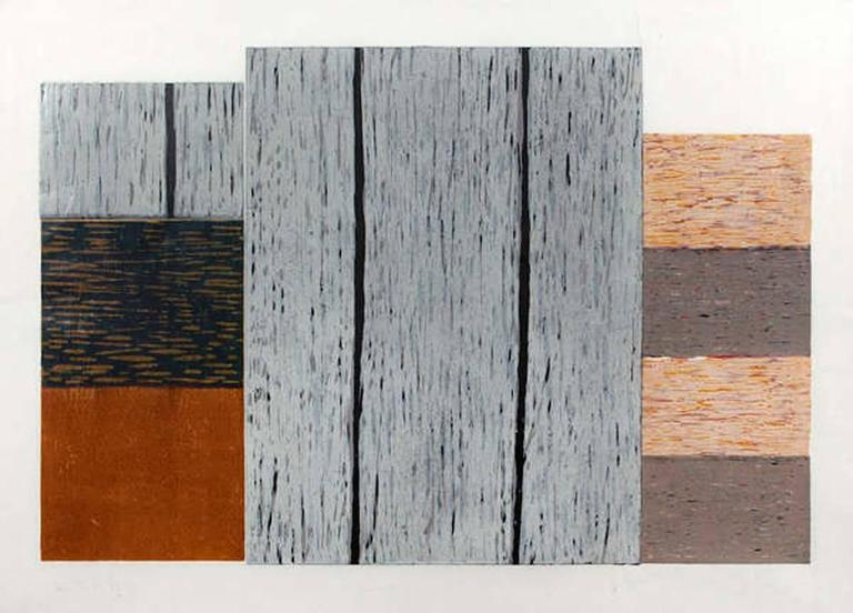 Sean Scully Abstract Print - Conversation