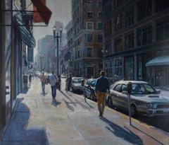 Urban Light, Framed