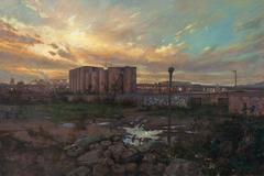 Abandoned Factory, Framed