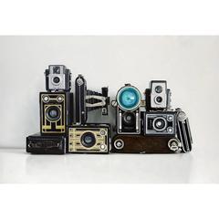 Ten Vintage Cameras