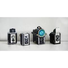 Four Vintage Cameras