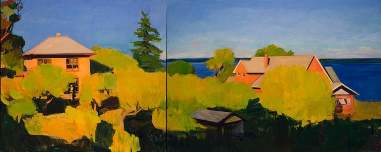 Summer on 7th St. (Diptych)