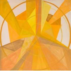 The Yellow Light, Framed