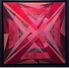 Baby Red, Framed
