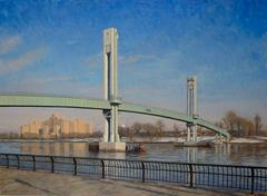 Footbridge, Framed