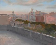 Rome from the Victoriano, Framed