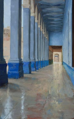 Instransigent Will (Blue Arcade, Havana), Framed