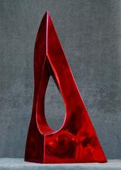 Ultra Red, Italian High Polished Stainless Steel