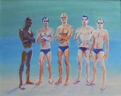Swim Team, Framed