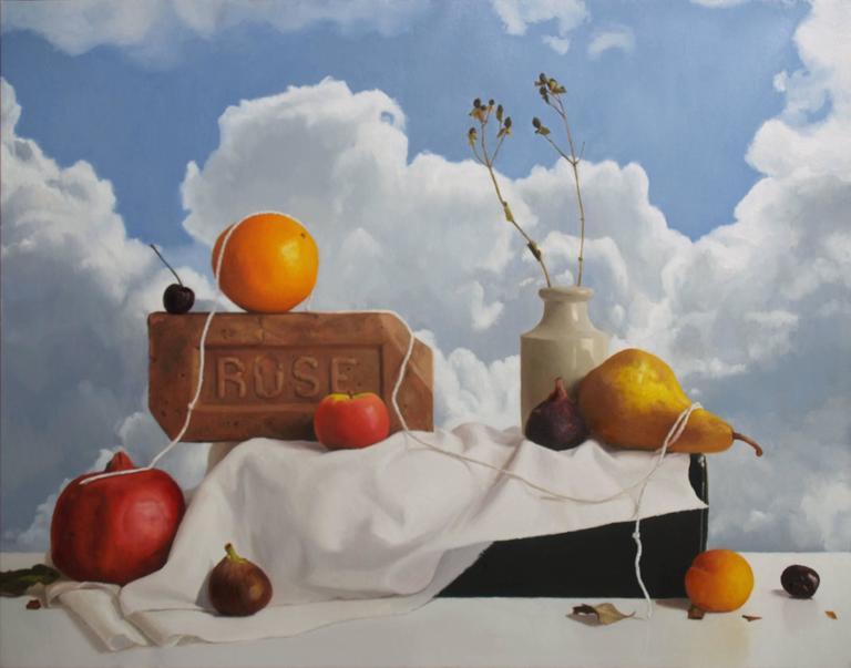 Randall Mooers Still-Life Painting - Fruit