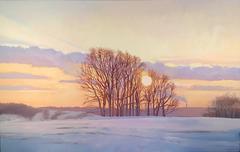 Avella Pennsylvania Sunset, Framed