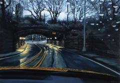Dawn in Central Park 1, Framed