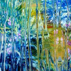 After Claude Monet: Iris 1 1916, 2017