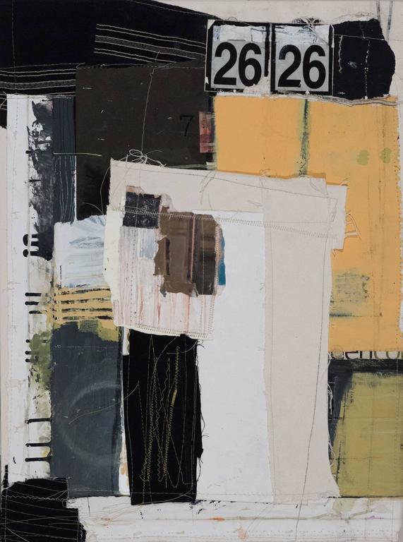 52 (Fifty-two) - Mixed Media Art by Joan Tucker