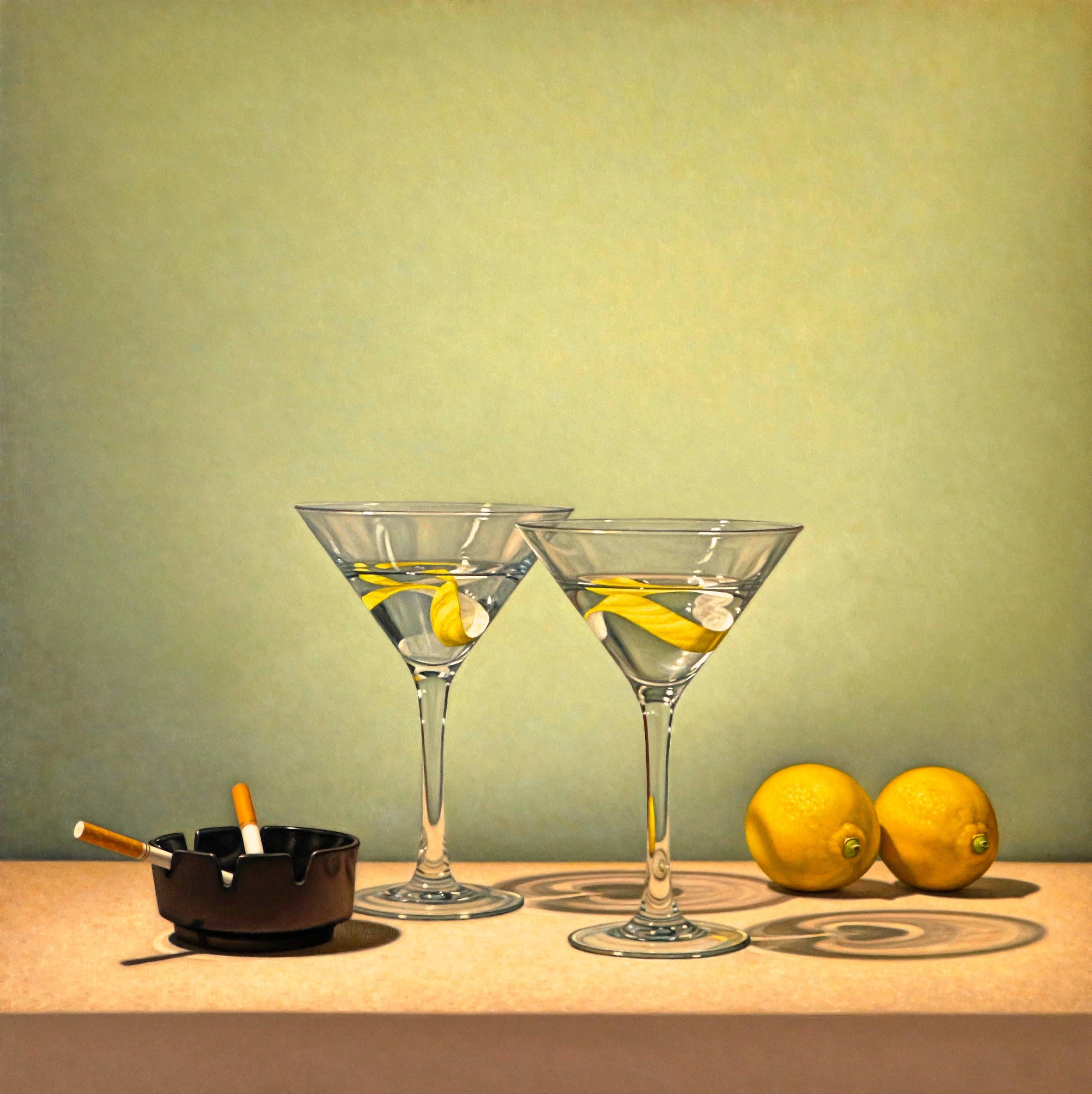 Tom Gregg - Olives and Martini, Painting For Sale at 1stdibs