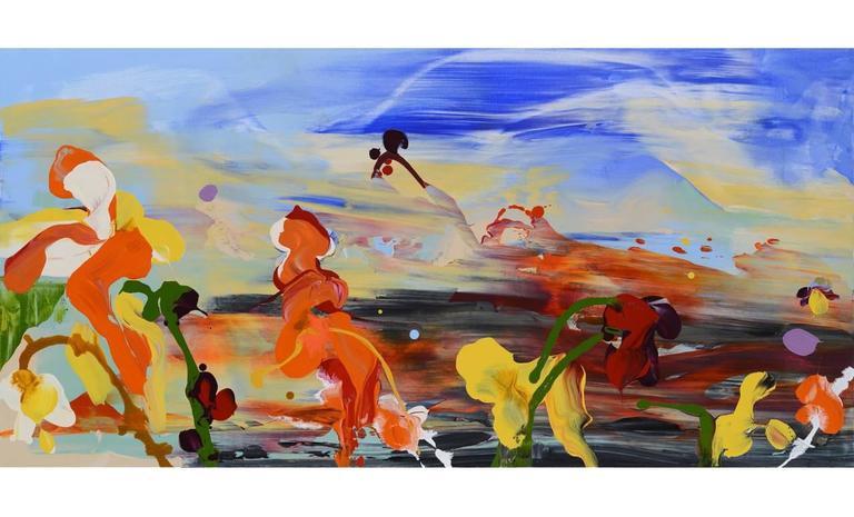 Daniel Phill Abstract Painting - Zenobia