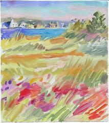 Salt Marsh 1, Framed