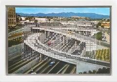 No.118 /California, Los Angeles Harbor Freeway (Framed)