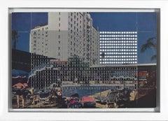 No.121 /California, Hollywood, Roosevelt Hotel and Promenade (Framed)