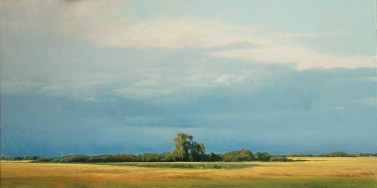 Bruce Brainard Landscape Painting - Sun-drenched IV
