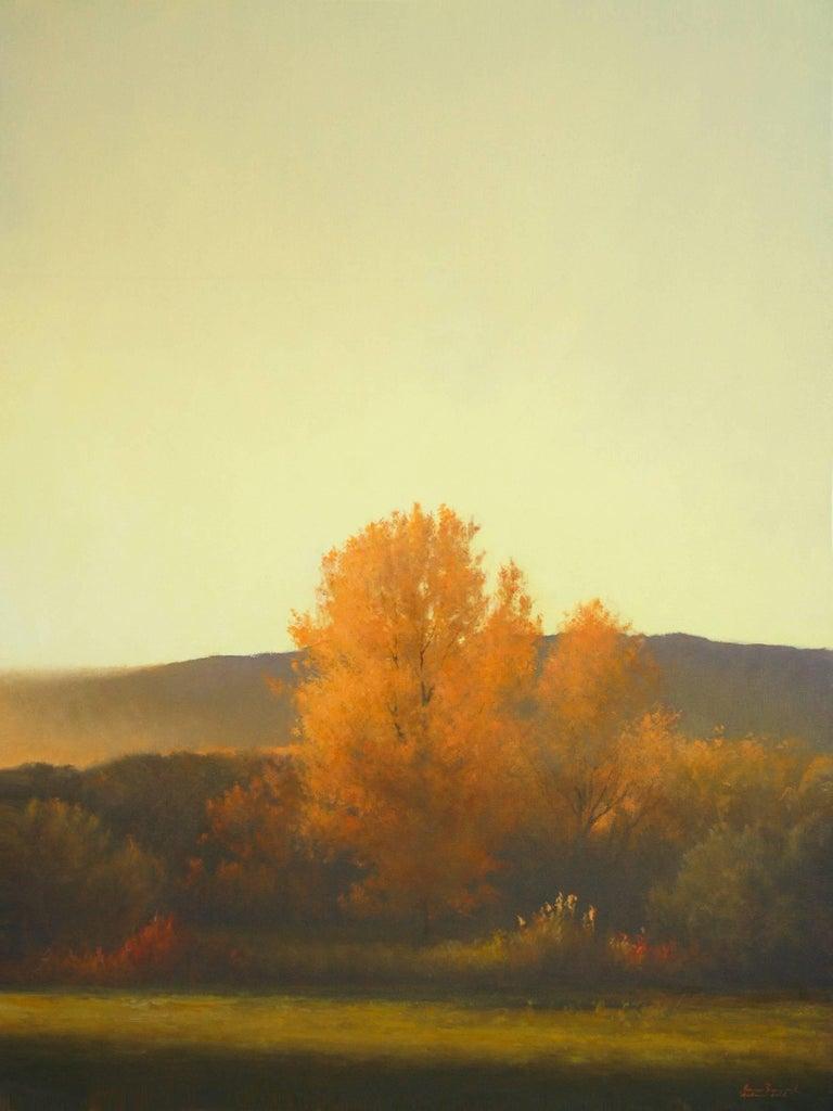 Bruce Brainard Landscape Painting - Autumn Gold