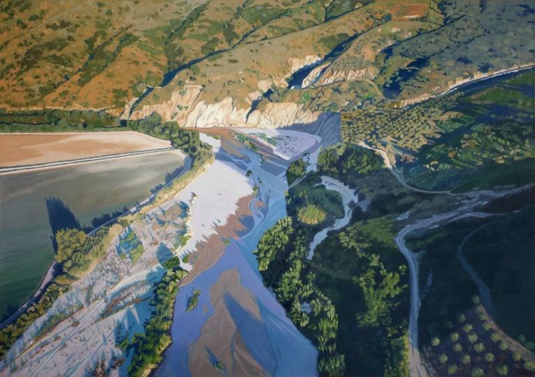 Santa Clara River-Bend (Framed)