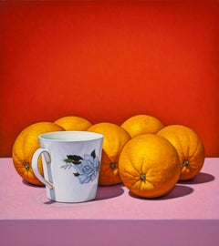 Cup with Oranges