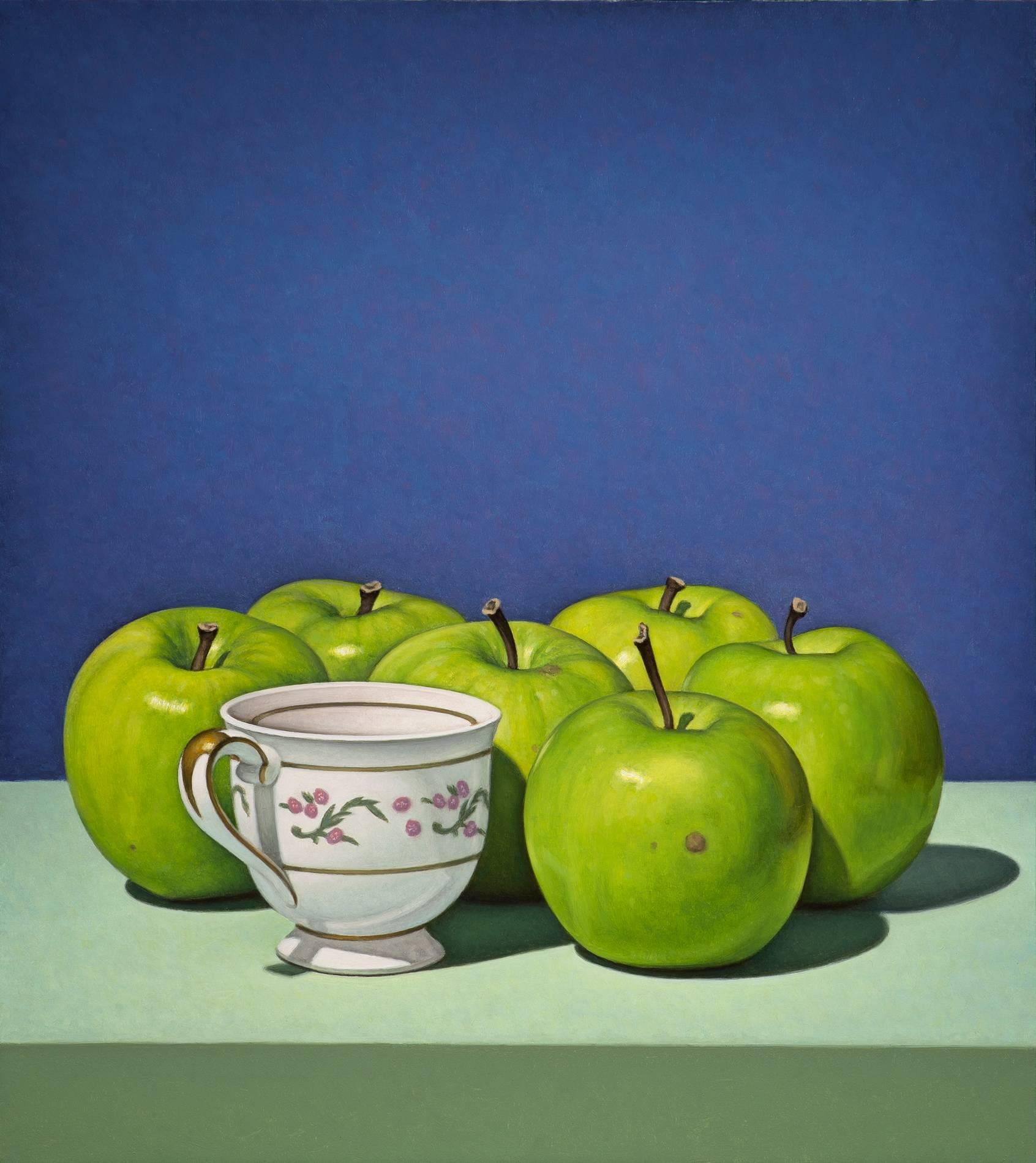 Cup with Apples