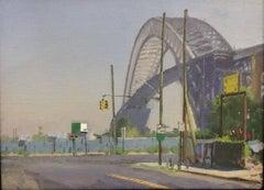 Clockwork Bayonne Bridge, Framed