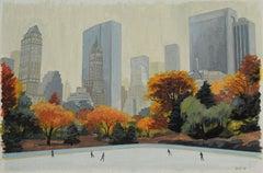 Central Park Rink Study 2