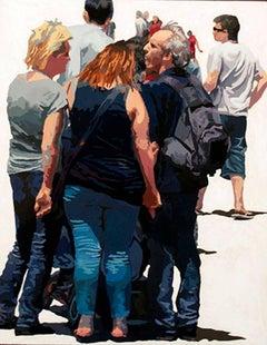 Crowd (Composition #19), Framed