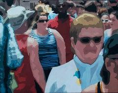 Crowd (Composition #17), Framed