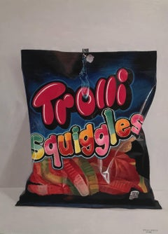 Trolli Squiggles, Framed