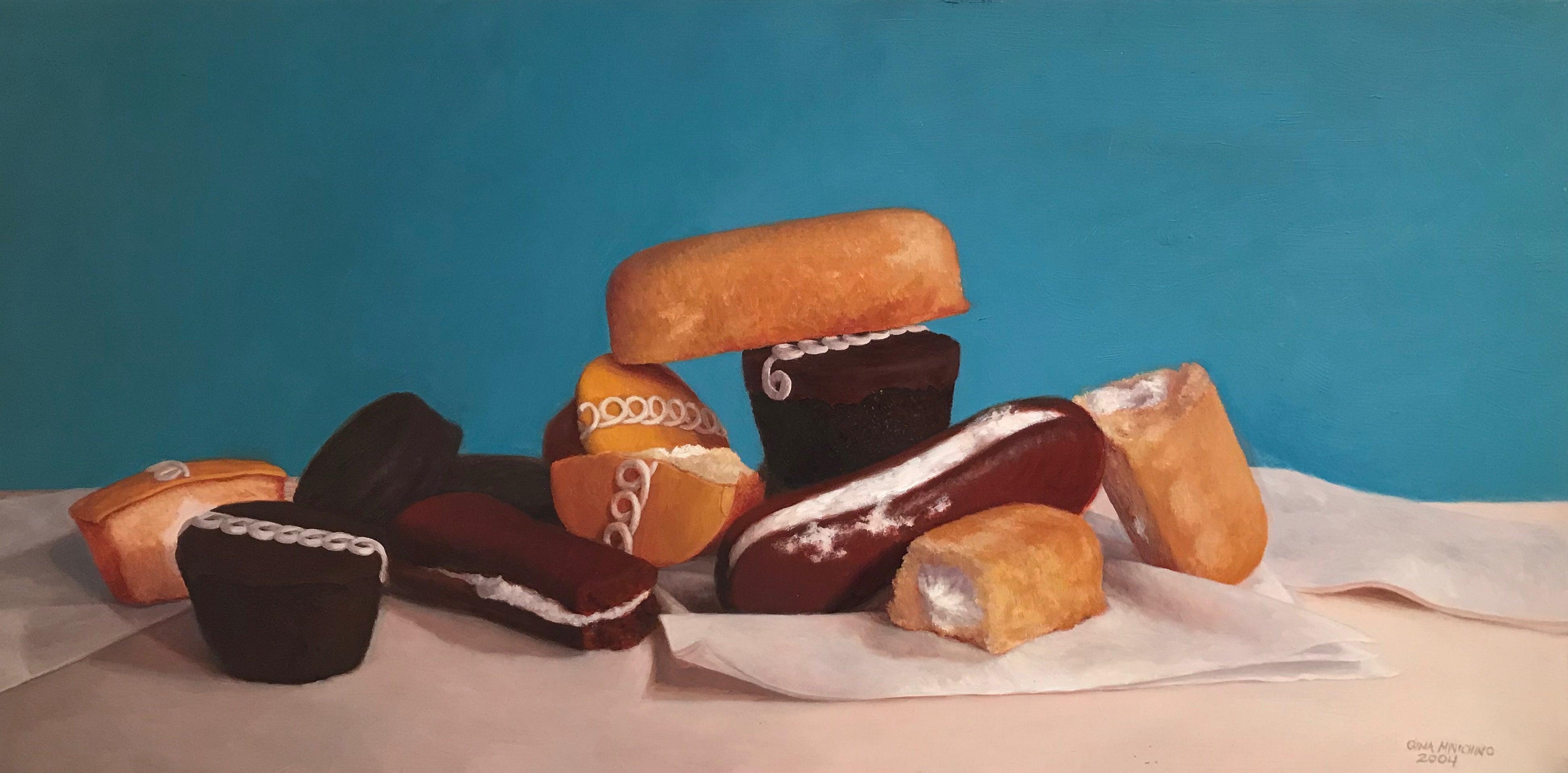 Assorted Snack Cakes, Framed